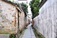 Chinese ancient village Royalty Free Stock Photo