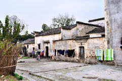 Chinese ancient village Stock Images