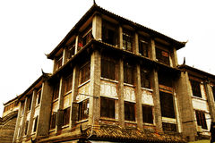 Chinese ancient village, Luodai ancient town Stock Image