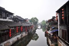 Chinese ancient village royalty free stock photography