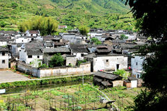 Chinese Ancient Villages stock photography