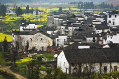 Chinese ancient villages Stock Images