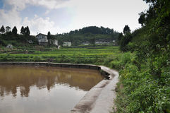 Chinese ancient villages Stock Photos
