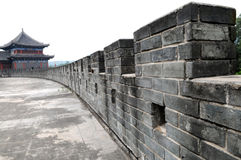 The Chinese ancient wall Royalty Free Stock Image