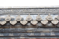 Chinese ancient wall Royalty Free Stock Image