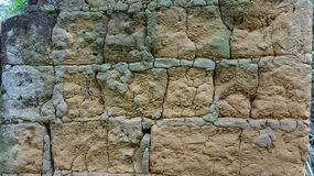 Chinese ancient wall close-up stock photo