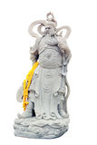 Chinese ancient warrior. Statue of Chinese warrior in thailand Stock Photos