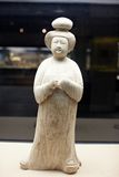 Chinese ancient woman statue of Tang dynasty Royalty Free Stock Images