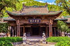 Chinese ancientry building- Grand Master Dou temple Royalty Free Stock Image