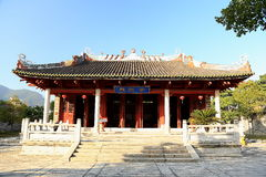 Chinese ancioent Confucius Temple in Guangdong. Chinese ancioent Confucius Temple in zhaoqing ,is a palace style architectural and art treasures, located in royalty free stock photos