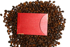 Chinese Ang Pao And Coffee Bean Stock Photos