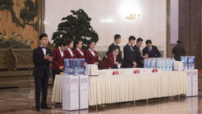 The Chinese annual sessions of 12th NPC and CPPCC Royalty Free Stock Images