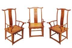Chinese antieke meubilairstoel Stock Foto