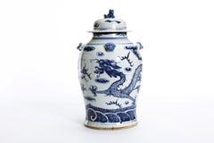 Chinese antieke vaas Stock Fotografie