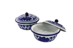 Chinese antique bowl Royalty Free Stock Image
