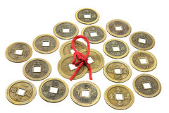 Chinese Antique Coins Royalty Free Stock Image