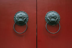 Chinese antique door Royalty Free Stock Photos