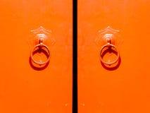 Chinese antique door Stock Photos