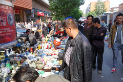 Chinese antique market Royalty Free Stock Photo