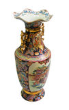 Chinese antique porcelain vase Royalty Free Stock Images