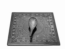 Chinese antique spoon compass Royalty Free Stock Photography