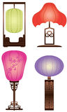 Chinese Antique Table Lamp Royalty Free Stock Image