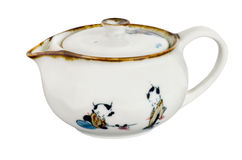 Chinese antique tea pot Stock Photo