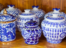 Chinese antique vase Stock Photography