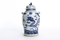 Chinese antique vase Stock Photography