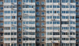 Chinese apartments. Apartments in China show high population and crowded conditions Stock Images
