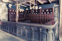 Chinese apotheek royalty-vrije stock afbeelding