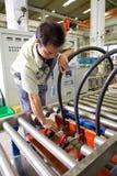 Chinese arbeiders Stock Foto's