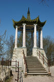 The Chinese arbour. In St.-Petersburg Royalty Free Stock Photo