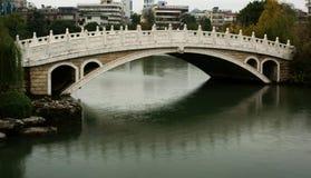 Chinese arch bridge Royalty Free Stock Photos