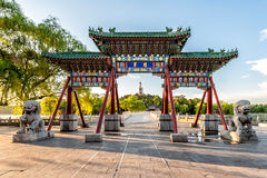 Chinese arch Stock Image