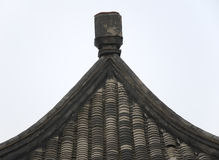 Chinese architecture. Chinese traditional architectural structures Stock Image