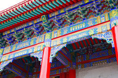 The chinese architecture Stock Photos