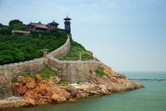 Free Chinese Architecture At Sea Side Royalty Free Stock Photos - 10308498
