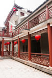Chinese  architecture--The corridor Stock Image