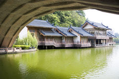 Chinese Architecture, Guilin, China Stock Photography