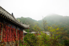 Chinese Architecture Mount Tai Royalty Free Stock Photos