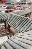 Chinese  architecture  --Roof tiles Royalty Free Stock Photos