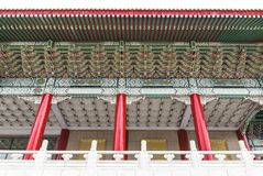 Chinese Architecture Of Taiwan National Theater Royalty Free Stock Image