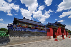 Chinese architecture-Temple of Heaven. Temple of Heaven is representative of traditional Chinese architecture Stock Photography