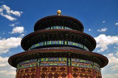Chinese architecture-Temple of Heaven Royalty Free Stock Photo