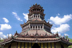 Chinese architecture tower Royalty Free Stock Photography