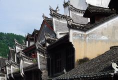 Chinese Architectuur Royalty-vrije Stock Afbeelding