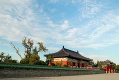Chinese architectuur Royalty-vrije Stock Afbeelding