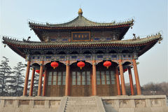 Chinese architectuur Stock Fotografie