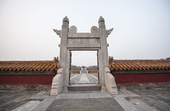 Chinese Archway Stock Images